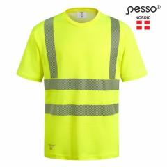 Pesso Hvmcotg Hi-Vis T-Skjorte 50% Cotton,  50% Polyester