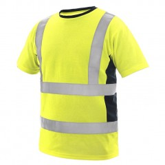 Cxs Tshirt Exeter Hi-Vis 55% Cotton 45% Polyester