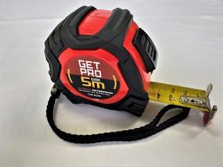 Getpro Båndmål Meter Waterproof 74G5025 5M