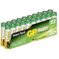 Batteri Gp Ultra Alkaline Lr03  Aaa 1,5V 20Pk