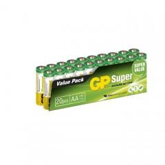 Batteri Gp Ultra Alkaline Lr6 Aa 1,5V 20Pk