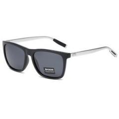 Kdeam Polarisert+Uv400 Solbriller Kd387 No.1 Silver/Svart