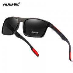Kdeam Polarisert+Uv400 Solbriller Kd101 P0101 No.4 Blå