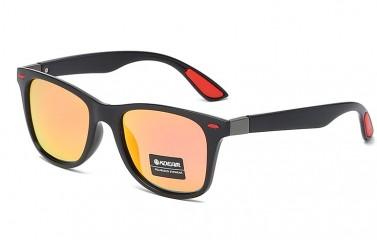 Kdeam Polarisert+Uv400 Solbriller Kd17569 No.6 Oransje/Svart