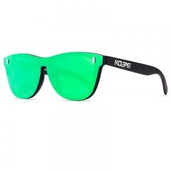 Kdeam Polarisert+Uv400 Solbriller Kd260 No.6 Svart/Grønn