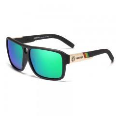 Kdeam Polarisert+Uv400 Solbriller Kd520 No.214 Svart/Blå