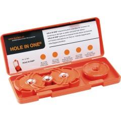 Hole In One Magnetsøksystem For Dubbeldosa Orange S2004N