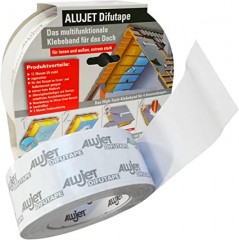 Alujet Difutape Excellent Nordic Universal- Utvendig - Byggtape 60Mm X 25M Hvitt Sintef