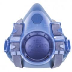 Silikon Halvmask Bayonettilkobling 7501